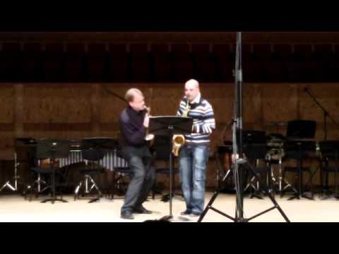 Wow! Arno Bornkamp & Pedro Saxo - SaxWeek2012
