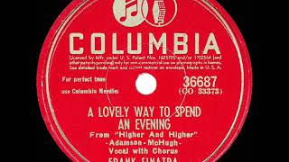 1944 HITS ARCHIVE: A Lovely Way To Spend An Evening - Frank Sinatra (a cappella)