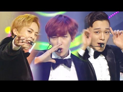 《UNIT》 EXO-CBX (첸백시) - Hey Mama! @인기가요 Inkigayo 20161106
