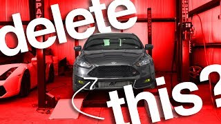 We RIPPED APART This Ford Focus ST's Engine To Get FREE Horsepower! (SECRET MODS)