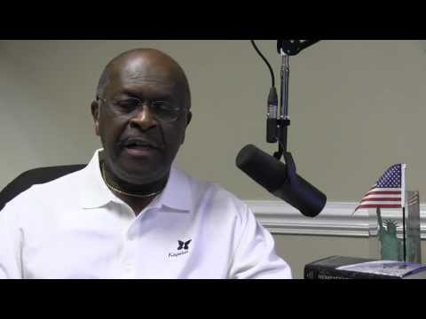 Herman Cain - DC March For Jobs Rally Special Message - YouTube