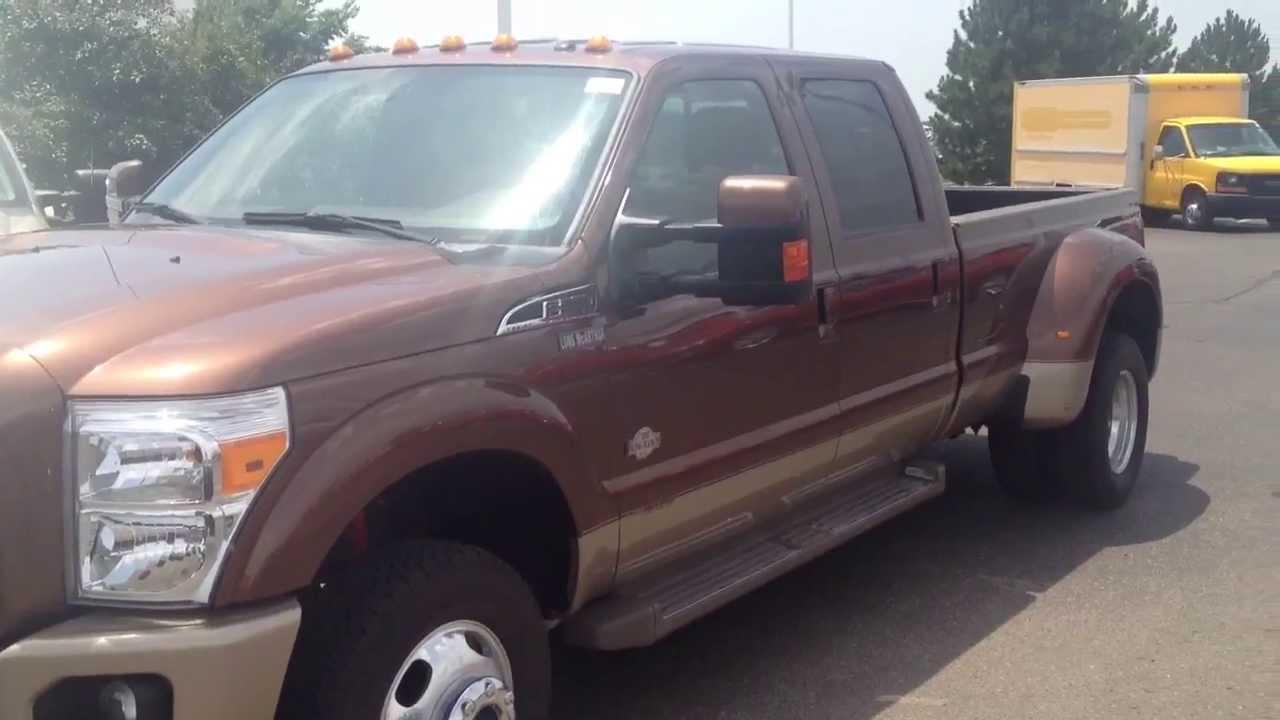 2011 ford f 350 king ranch crew cab 6 7l v8 dually truck long mcarthur ford salina ks 67401. Black Bedroom Furniture Sets. Home Design Ideas