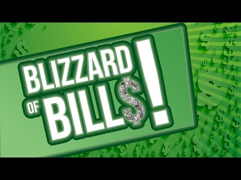 Blizzard of Bills • March 4 - April 30, 2016