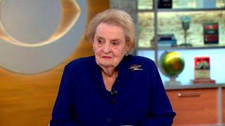 Madeleine Albright talks fascism,