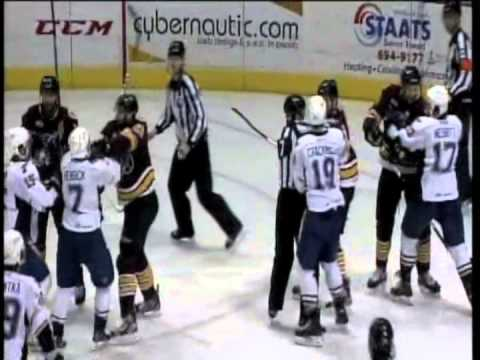 Game Highlights Feb 23 At Peoria Rivermen