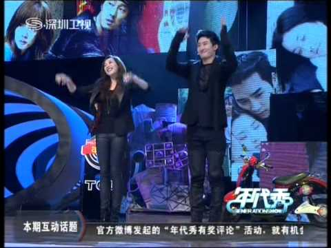 121123 Generation Show Victoria and Zhoumi during 3bears