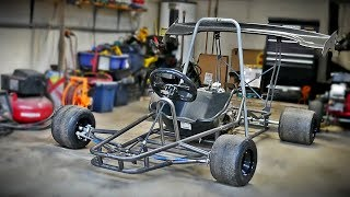 HOMEMADE shifter kart build 5 speed (day-1) Videos - mp3toke