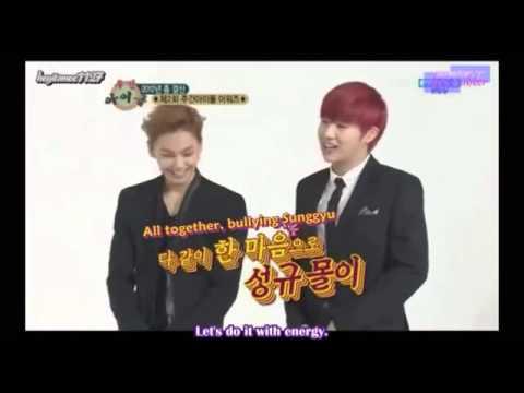 [Eng Sub] INFINITE SungGyu Getting Angry at BTOB Ilhoon (Weekly Idol Cut)