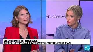 World Alzheimer's Day: Genetic, lifestyle and environmental factors affect brain • FRANCE 24
