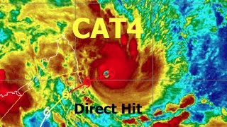 CAT4 Storm making a disastrous direct hit to Antalaha   *Populated*