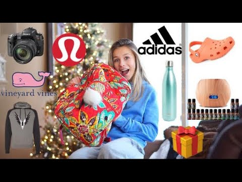 WHAT I GOT FOR CHRISTMAS 2017! (Adidas, Lulu lemon, Nike, VinyardVines, ivory ella, etc.)