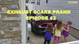 Exhaust Scare Prank Episode #2 Dodge Charger r/t Scat Pack 392 hemi srt
