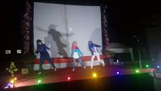 Callysta (blue white costume) & Friends Dance Performance. Meghan Trainor - Better when I'm Dancing