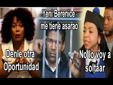 Cheddy VS Yeni Berenice por el caso de Omega el Fuerte