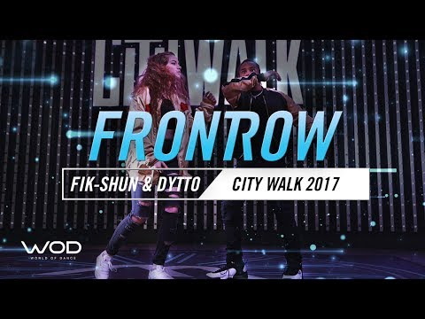 Fik Shun & Dytto   FrontRow   World of Dance Live 2017   #WODLive17
