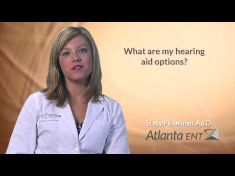 What are my hearing aid options?