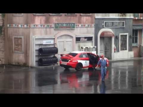 Movie World - Hollywood Stunt Driver - brought to you by Castrol EDGE