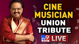 Live: Cine Musicians Union tribute to SP Balasubrahmanyam..