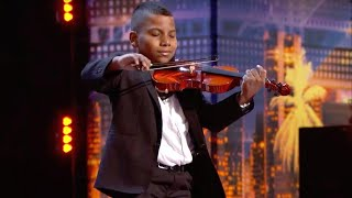 'America's Got Talent': Simon Cowell Gives Golden Buzzer to 11-Year-Old Cancer Survivor