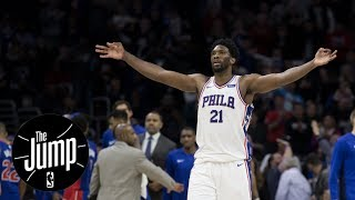 Agree with Joel Embiid saying he's the best big man in NBA? | The Jump | ESPN