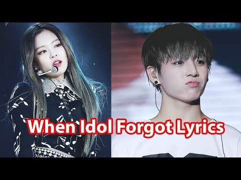 When Idol Forgot Lyrics - Reaction of Idol and Fans