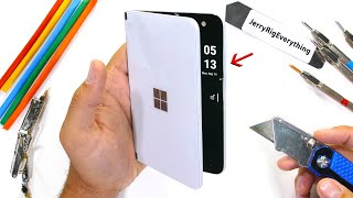 Microsoft Duo Durability Test! - How Thin is too Thin?!