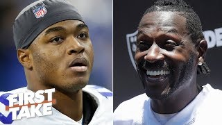 Amari Cooper doesn't deserve to be paid like Antonio Brown - Stephen A. | First Take