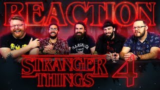 Stranger Things 4 | From Russia with love… REACTION!!