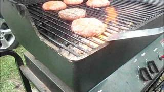 "How to Cook Burgers On a Charcoal Grill ""Best Burgers Ever"""