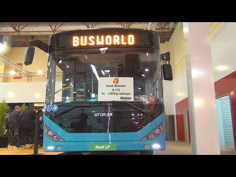 Otokar Kent LF Bus (2016) Exterior and Interior in 3D