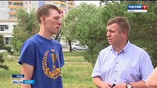 Ещё одним благоустроенным сквером в Омске стало больше