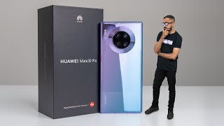 Huawei Mate 30 Pro UNBOXING - The Best Phone You CAN'T Buy!
