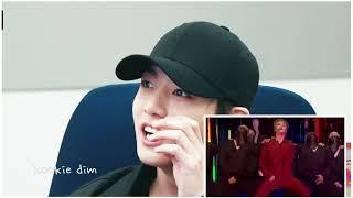 BTS reaction to jimin Filter Performance (FM)