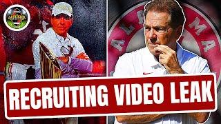 Nick Saban's Leaked Recruiting Video - Rapid Reaction (Late Kick Cut)