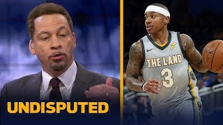 Chris Broussard compares Isaiah Thomas' Cavs fit to Allen Iverson's Pistons fit   UNDISPUTED