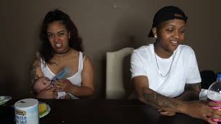 Domo and Crissy! REAL FOOD VS GUMMY FOOD OLD VIDEO