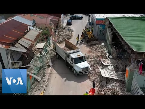 Cleanup Continues in Puerto Rico After Earthquake
