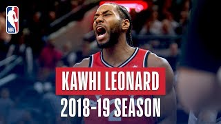Kawhi Leonard's Best Plays From the 2018-19 NBA Regular Season
