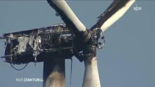 Acidentes e Incêndios em Turbinas Eólicas - Energia Eólica