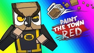 Paint the Town Red Funny Moments - Vanoss & Delirious's Bar!