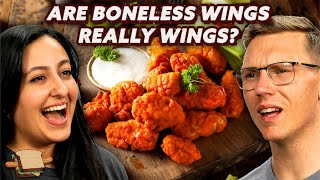 Are Boneless Wings Really Wings?   A Hot Dog Is a Sandwich   Mythical Kitchen