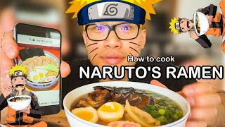 How to cook NARUTO ICHIRAKU RAMEN