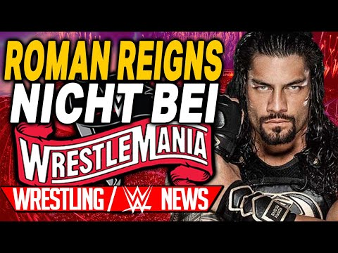 Roman Reigns nicht bei Wrestlemania!, Ausgangssperre in Florida   Wrestling/WWE NEWS 38/2020