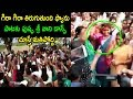 YSRCP sitting MLA Sri Vani caught dancing for party campaign song
