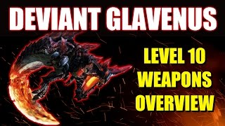 Monster Hunter Generations: Hellblade Glavenus LV10 Weapons Overview