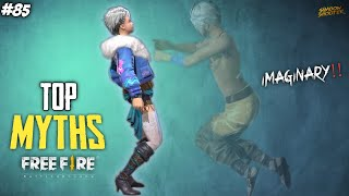 Top Mythbusters in FREEFIRE Battleground | FREEFIRE Myths #85
