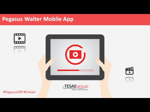 Pegasus Waiter Mobile App