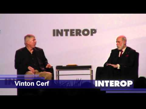 Dan Lynch - Vinton Cerf (Interop 2011)