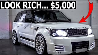 CHEAP CARS THAT MAKE YOU LOOK RICH