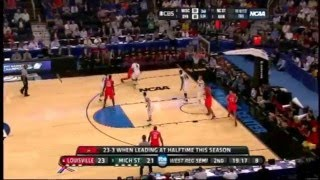 Ncaa Basketball Louisville road to the final four 2012.